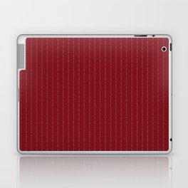 Fuck You - Pin Stripe - conor mcgregor Red Laptop & iPad Skin