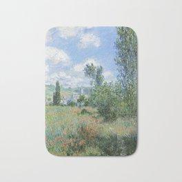 View of Vetheuil by Claude Monet, 1880 Bath Mat