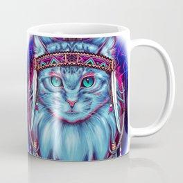 Dreamcatcher Cat Coffee Mug