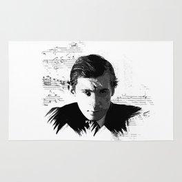 Glenn Gould - Canadian Pianist, Composer Rug