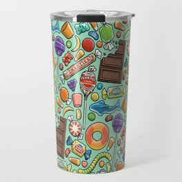 Candy Pattern Travel Mug