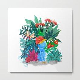 forestblue Metal Print