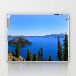 Crater Lake II Laptop & iPad Skin