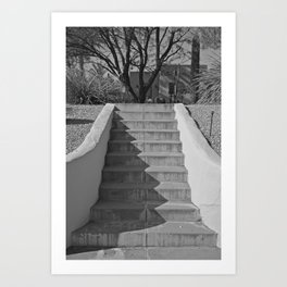 Above the Stairs Art Print