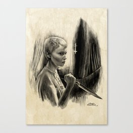 Homage to Rosemary's Baby Canvas Print