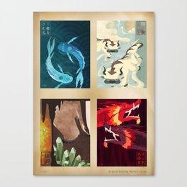 Original Bending Masters Series Canvas Print