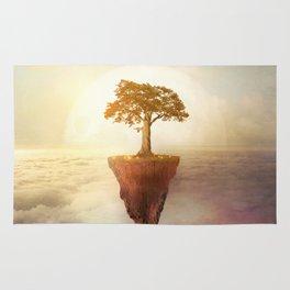 Floating tree Rug