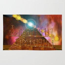 Ancient Secrets THOTH 3D Scifi Egyptian Rug