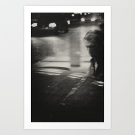Tangent Traffic Art Print