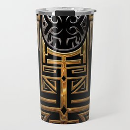 The great mother eagle Travel Mug