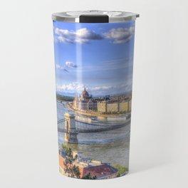 Budapest Cityscape Travel Mug