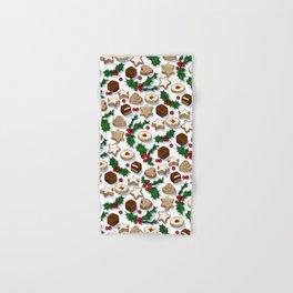 Christmas Treats and Cookies Hand & Bath Towel