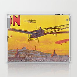 1910 Aviation week Lyon France Laptop & iPad Skin