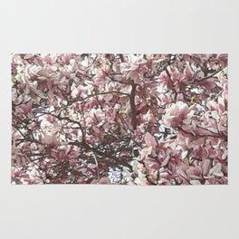 Magnolia Blossoms Rug