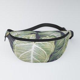 Jungle leaf - vintage Fanny Pack