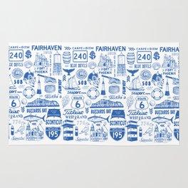 Fairhaven Massachusetts Print Rug