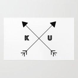 Kansas x KU Rug