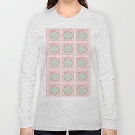 Button and Bows Long Sleeve T-shirt