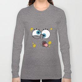Spongebob Crazy Face Long Sleeve T-shirt