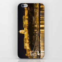 Budapest Chain Bridge And Castle iPhone Skin