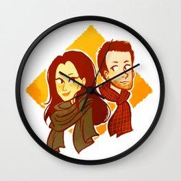 elementary, my dear watson Wall Clock