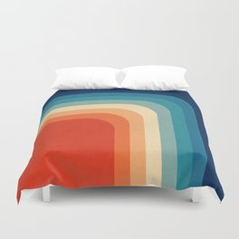 Retro 70s Color Palette III Duvet Cover