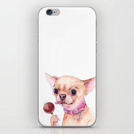 Chihuahua and Cake Pops iPhone Skin