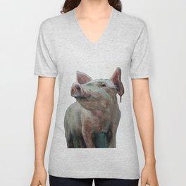 One Bad Pig Unisex V-Neck