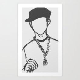 03 Jay Art Print