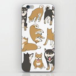 I love Shiba inu! iPhone Skin