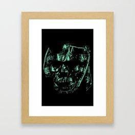 MACHINE MAN Framed Art Print