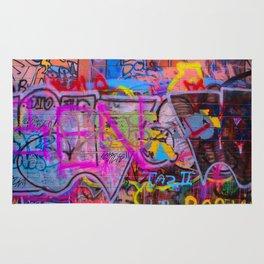 Bright Graffiti Rug