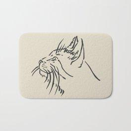 Wishful Whiskers Cat Bath Mat