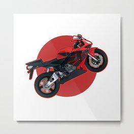 Japanese Motorcycle Metal Print