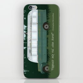 Into The Wild - Magic Bus iPhone Skin