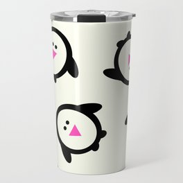 Happy Feet Holiday Collection Penguins Travel Mug