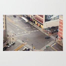 Downtown Detroit 3 Rug