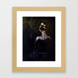 Nyx Framed Art Print