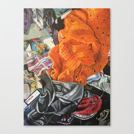 Zero Tinder Canvas Print