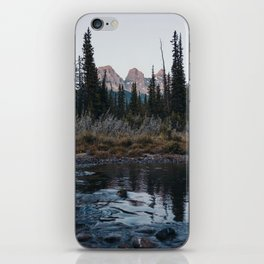 Three Sisters, Canmore iPhone Skin