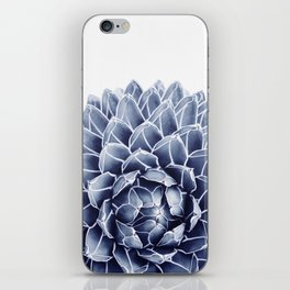 Succulent splendour - chambray iPhone Skin