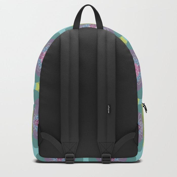 Springflower-Kaleidoscope Backpack