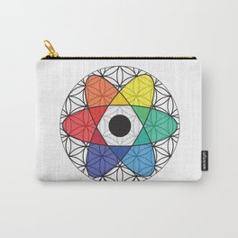 Flower of Science Carry-All Pouch