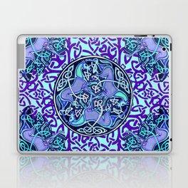 7 Blue Celtic Horses Laptop & iPad Skin