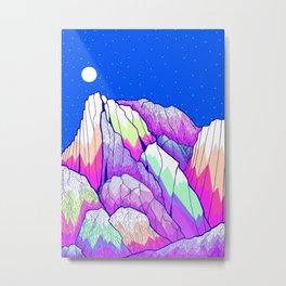 The vibrant Peak Metal Print