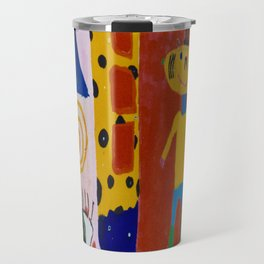 Painted wall Travel Mug
