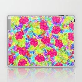 Hawaiian Pink Flowers Laptop & iPad Skin