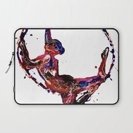Splatter Hoop Laptop Sleeve