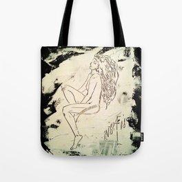 Black & White Dreams Tote Bag