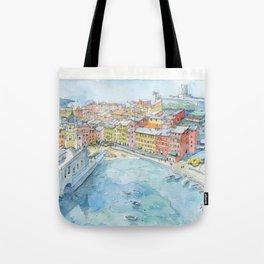Vernazza, Cinque Terre, Italy Tote Bag